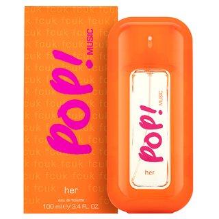 Fcuk Pop Music woda toaletowa dla kobiet 100 ml