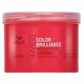 Wella Professionals Invigo Color Brilliance Vibrant Color Mask maska do włosów farbowanych i delikatnych 500 ml